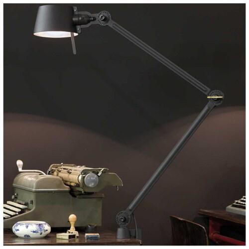 Tonone Bolt 2 Arm Foot bureaulamp-Midnight grey