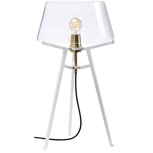 Tonone Ella White tafellamp-Natural-grijs