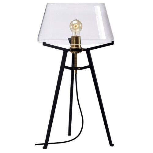 Tonone Ella Black tafellamp-Natural-grijs