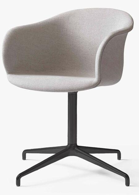 &tradition Elefy JH33 stoel-Licht grijs-Zwart