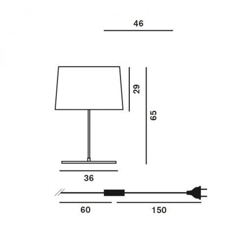 Foscarini Twiggy xl tafellamp-Wit