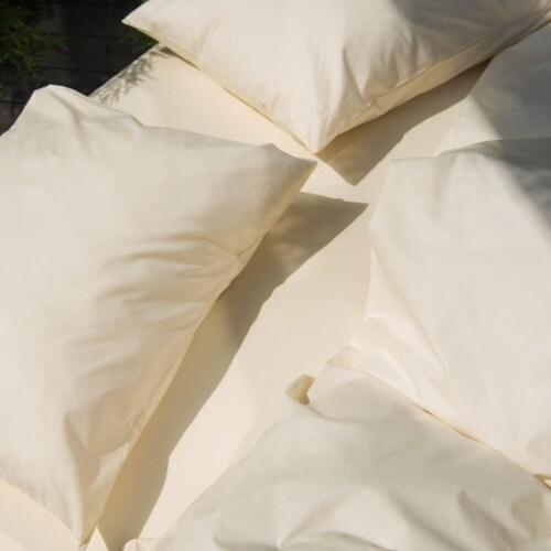 Snurk Uni Beige dekbedovertrek-140x200/220 cm