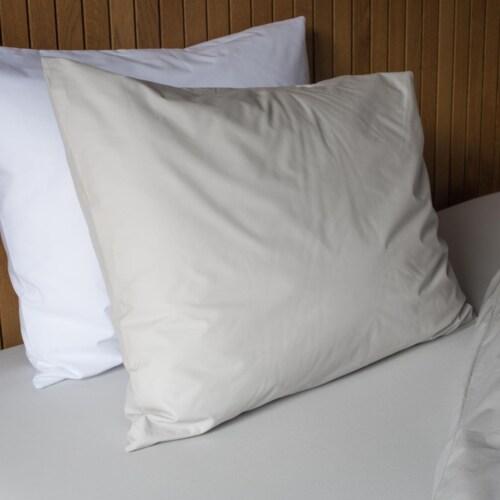 Snurk Uni Grey dekbedovertrek-200x200/220 cm