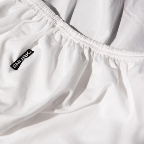 Snurk Uni White dekbedovertrek-260x200/220 cm