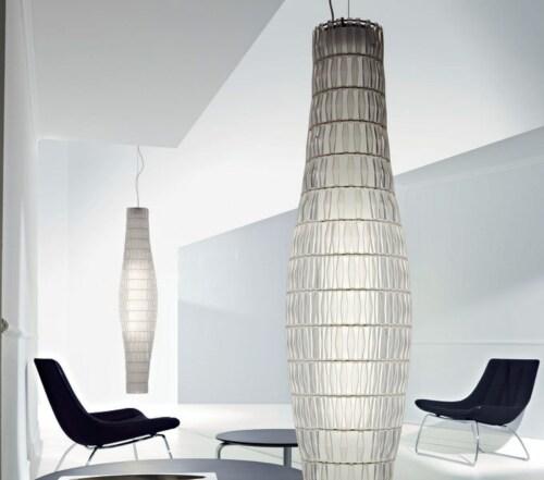 Foscarini Tropico hanglamp-Ice-Vertical