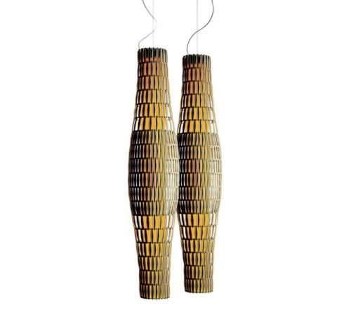 Foscarini Tropico hanglamp-Ivoor-Vertical