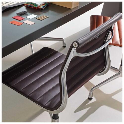Vitra EA 101 stoel-Netweave Nero
