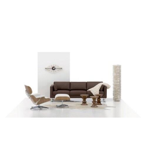 Vitra Ottoman Lounge chair sneeuwwit