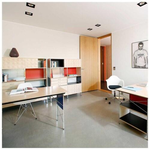 Vitra PACC bureaustoel-Poppy rood