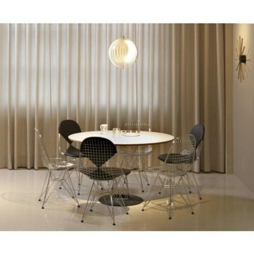 Vitra Eames Wire Chair DKR 2 stoel verchroomd onderstel-Hopsak 87