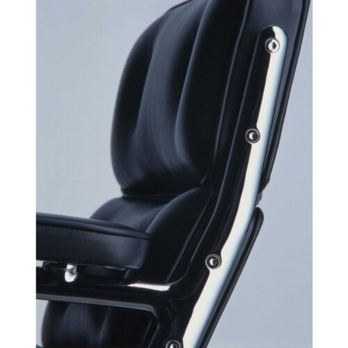 Vitra Lobby Chair ES 105 fauteuil-Zwart