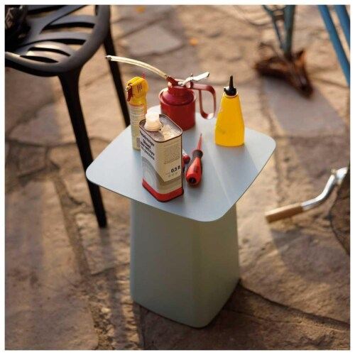 Vitra Metal Side Table Outdoor salontafel-Dimgrijs