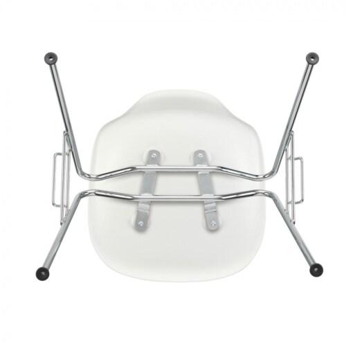 Vitra Eames DSS stapelbare stoel-Wit