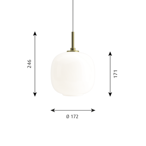 Louis Poulsen VL45 Radiohus 175 hanglamp