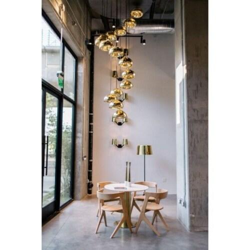 Tom Dixon Void hanglamp-Metaal