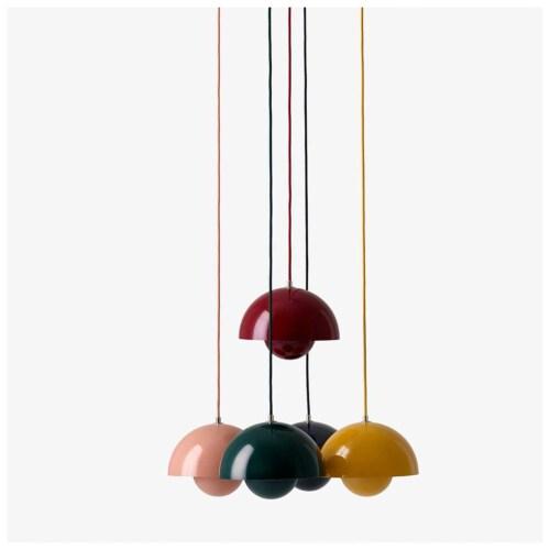 &tradition FlowerPot VP1 hanglamp-Roodbruin