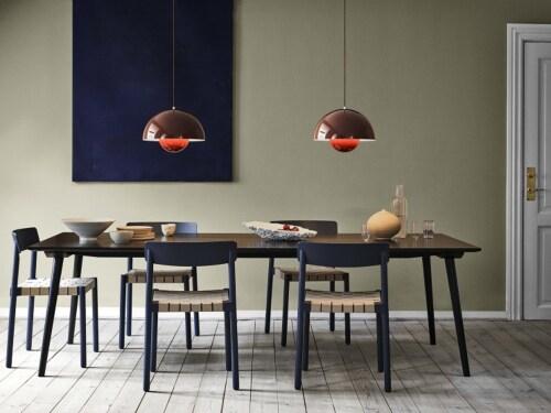&tradition FlowerPot VP7 hanglamp-Licht blauw