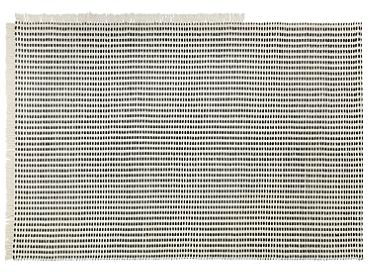 Ferm Living Way Off-White/Blue vloerkleed