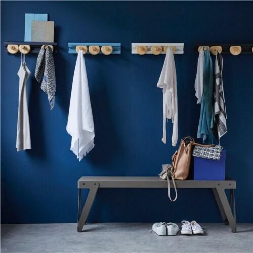 Van Esch Wheels kapstok-Donker blauw-80 cm