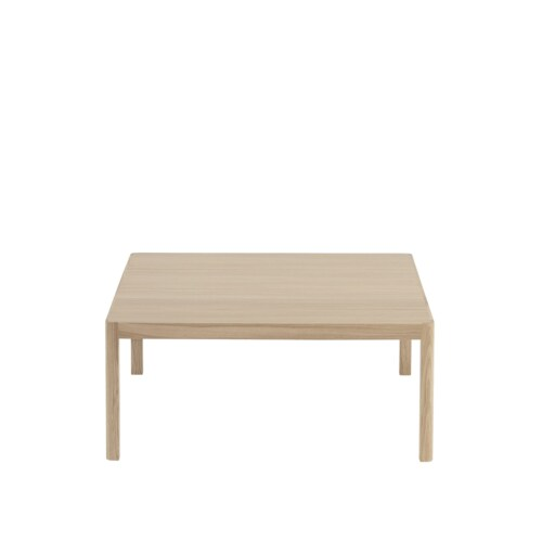 muuto Workshop salontafel 86x86 cm-Oak