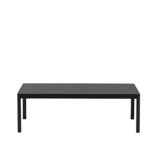 muuto Workshop salontafel 120x43 cm-Black