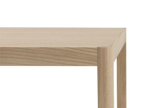 muuto Workshop salontafel 120x43 cm-Oak