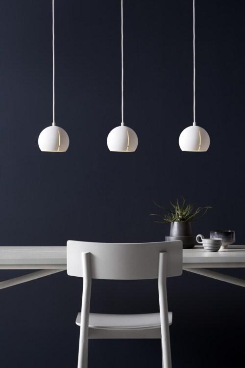 WOUD Gap rond hanglamp-White