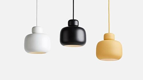 WOUD Stone hanglamp-White