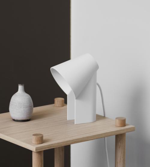 WOUD Study tafellamp-White