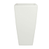 Product afbeelding van: Elho Pure Soft Square high bloempot Wit ∅ 40 cm OUTLET