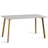Product afbeelding van: Hay CPH Deux 210 tafel 140x75 mat gelakt eiken onderstel