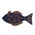 Product afbeelding van: Ferm Living Fish Tufted wand-en vloerkleed