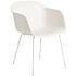 Product afbeelding van: muuto Fiber Tube stoel Wit OUTLET