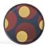 Product afbeelding van: Ethnicraft Turkish Dots 48 cm dienblad / tafel