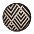 Product afbeelding van: Ethnicraft Graphite Chevron 48 cm dienblad / tafel