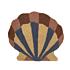 Product afbeelding van: Ferm Living Shell Tufted wand- en vloerkleed