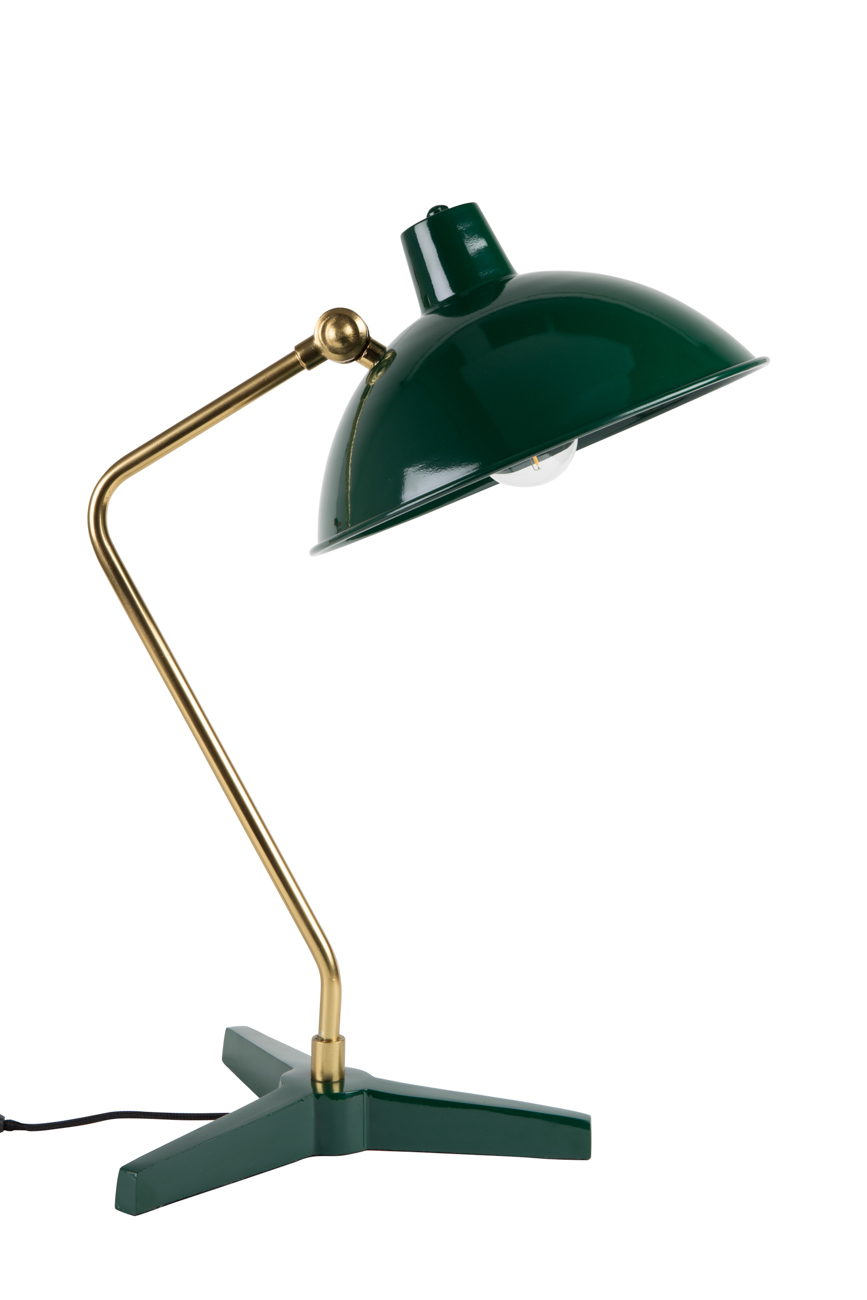 Dutchbone Devi Desk lamp-Groen