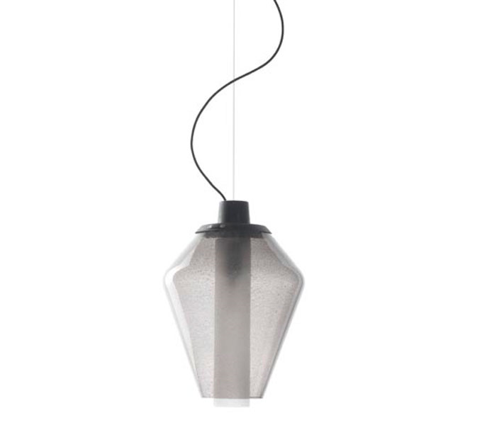 Diesel with Foscarini hanglamp Metal Glass-Grijs-nr. 1