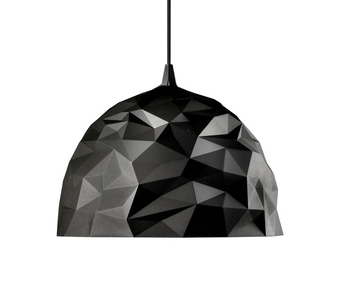 Diesel with Foscarini Rock hanglamp-Zwart