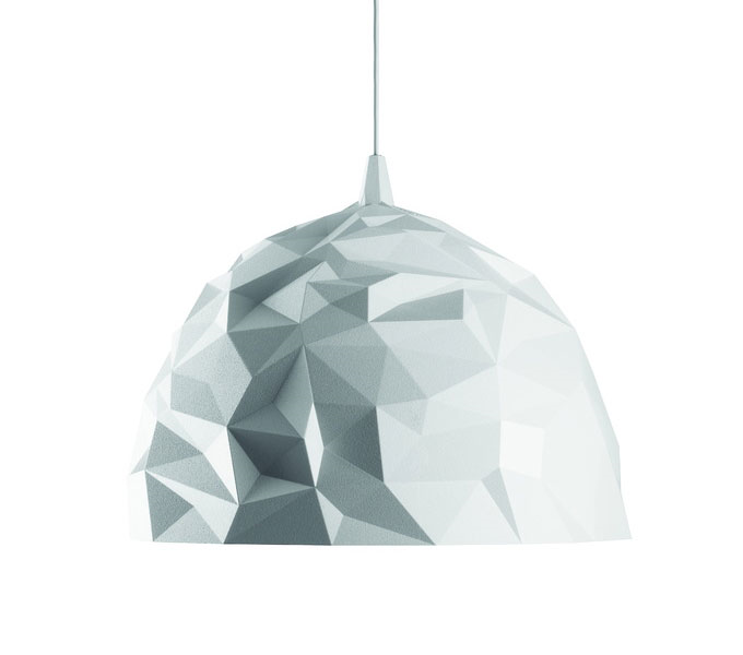 Diesel with Foscarini Rock hanglamp-Wit