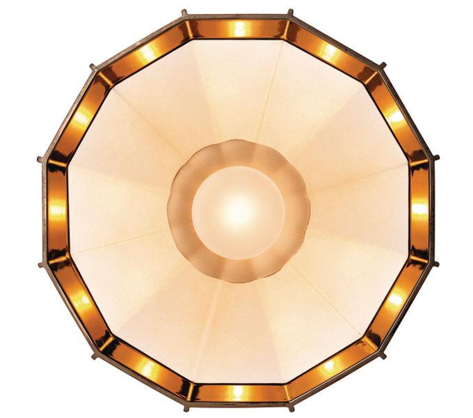 Diesel with Foscarini Mysterio plafondlamp-Koper