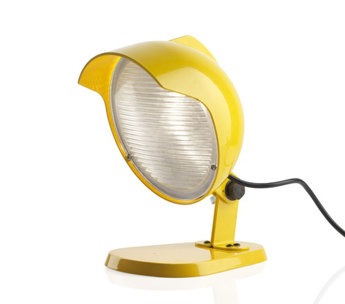 Diesel with Foscarini DUII Mini tafellamp-Geel