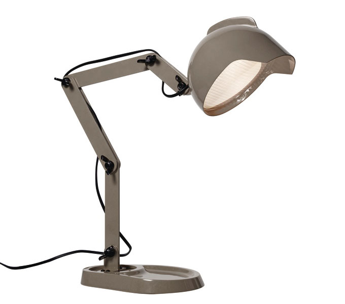 Diesel with Foscarini DUII tafellamp -Grijs