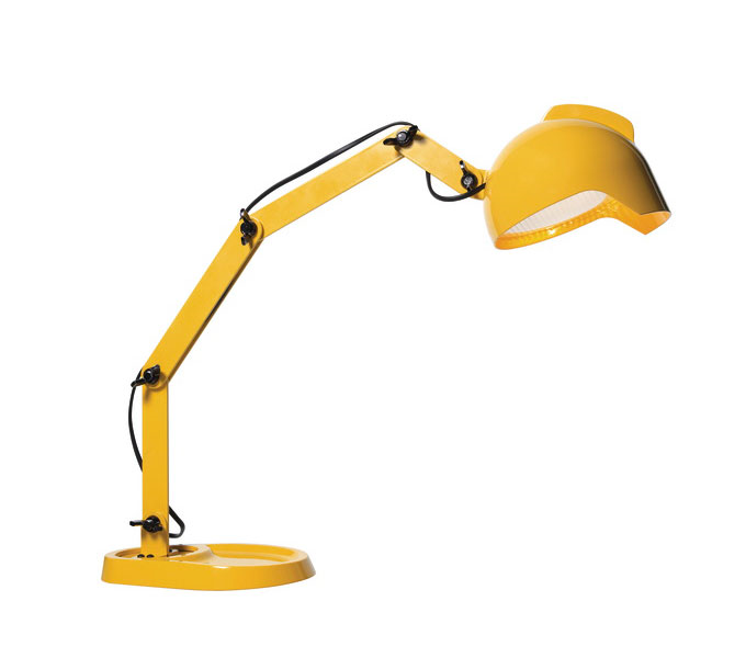 Diesel with Foscarini DUII tafellamp -Geel