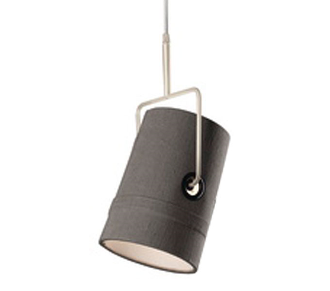 Diesel with Foscarini Fork hanglamp-Grijs-Piccola