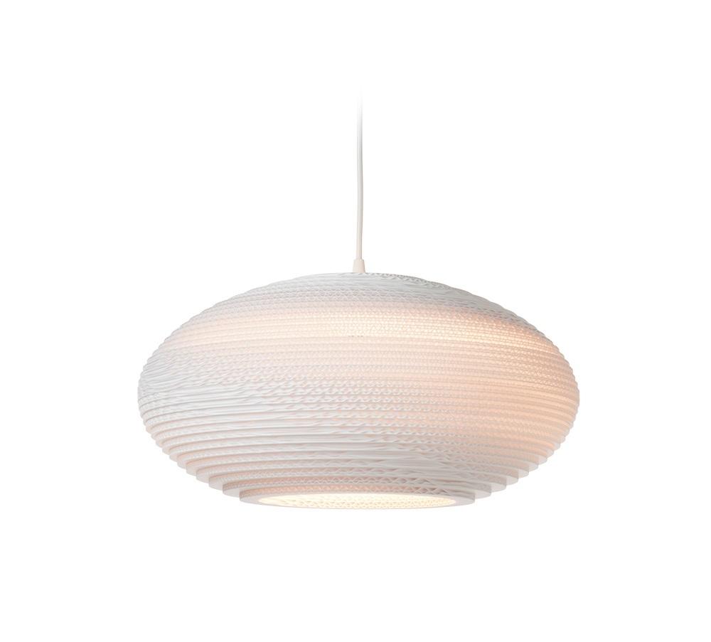 Graypants Disc wit hanglamp-� 43 cm
