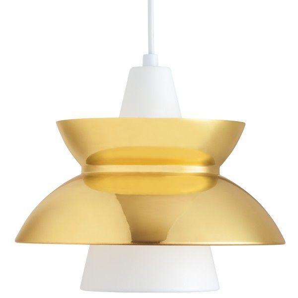 Louis Poulsen Doo-Wop hanglamp-Messing