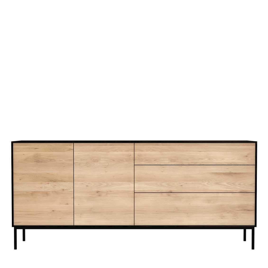 Ethnicraft Blackbird dressoir-180x80 cm