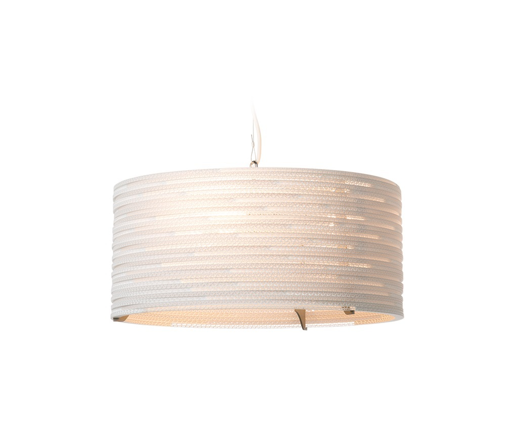 Graypants Drum wit hanglamp-ø 45 cm