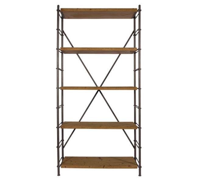 Dutchbone Shelf Iron boekenkast